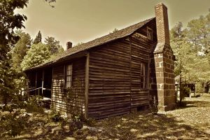 Historic Shaw House 1820 by angidraco