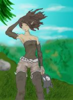 Wakfu - Rogue - A breeze long sought for - DigiArt by Groovechamp-Slappy