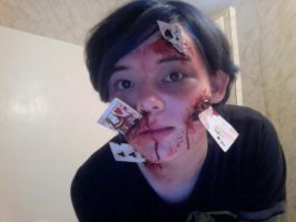 Poker Game Gone Wrong 2: Special Effects Makeup by eternalscouts