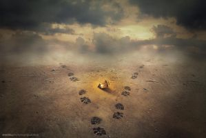footprints by evenliu