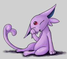 Request: Espeon by TheSplashingMAGIKARP