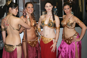 Comic-Con 2011 Leia x4 by Stangace20