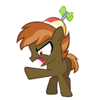 AWAY WITH YOU! (Button Mash Vector) by KyoshiTheBrony