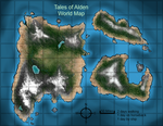 Tales of Alden Map by Greg-M