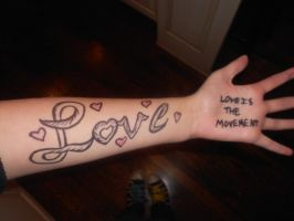 To write love on her arms by nightowlsruleearth