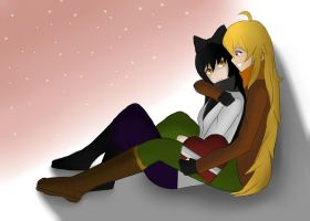 Happy Valentine's Day: Blake and Yang Edition by DGsilv3r
