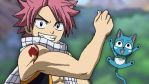 Natsu and Happy by UsualPaper