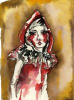 Red riding hood by dyingrose24