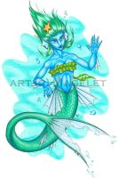Mermaid, finished. by Magelet