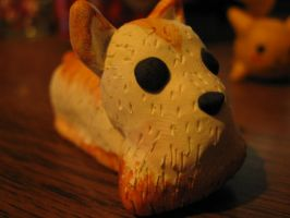 Mustache Hover Dog Painted by Spaz-Twitch11-15-10