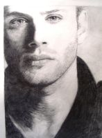 Jensen in Shadow/Supernatural by hsr62