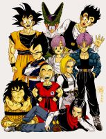 Dragonball tribute OMG by Dagnirvagor