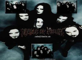 Cradle of Filth by juggalette57
