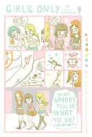 GIRLS ONLY comic by perfectnoseclub