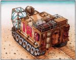 Exploration Vehicle Mk 2b by Frohickey