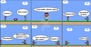 Super Mario World comic 2 by GoldenfrankO