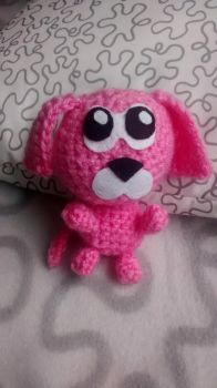 Cute Little Pink Dog by Silversname
