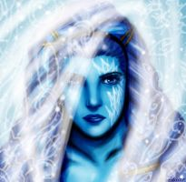Shiva, the Ice Queen by OmaruIndustries