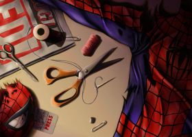Spider-Man Still Life by smlshin
