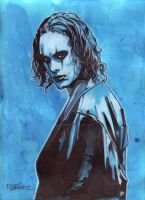 The Crow by Randy-Martinez