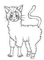 - FREE LINEART - Alpacat by Elythe