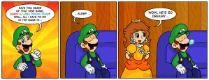 Luigi's New Role by Gabasonian