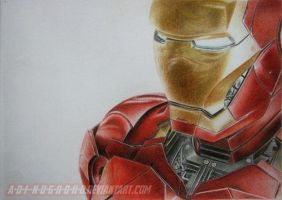 iron MAN by A-D-I--N-U-G-R-O-H-O