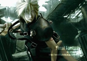 Cloud Strife by Cielrune