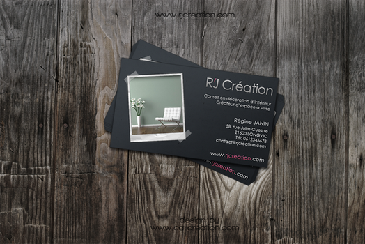 R'J Creation business card by InfinityK4fx