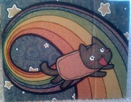 :: Everyday I'm Nyanning :: by LaughingSquid