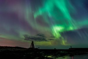 Northern lights ... 4 by MonikaTherese
