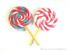 Christmas Lollipops by quaint-dame