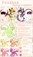 Prush species Refsheet by Keesness