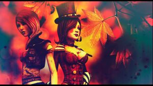 Lilith and Moxxie by SallibyG-Ray
