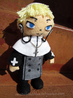 Commission- Justin Law from Soul Eater Fanplush by Rainbowbubbles
