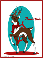 Rudolph, the red nose reindeer by WMDiscovery93