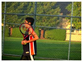 Tennis. by ohshrubbery