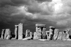 Stormy Stonehenge by Chienna15