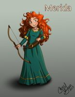 Merida by Chansey123
