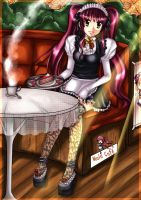 Maid Cafe by Alien-Angel