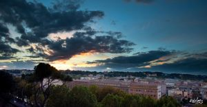 the sky of Rome by rdalpes