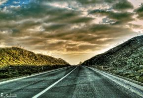 Road to nowhere by FLixter