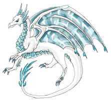 Ice Elemental - Brambleclaw33 by Isadoln-Dale