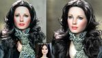 Jaclyn Smith Charlie's Angels doll repaint by noeling