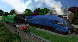 Two Great Engines by maxq3d