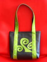 Suborganic Sparkle Green Tote by Ms-Antimatter