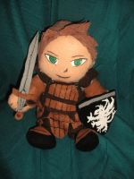 Alistair Plushie by D2SCosplay