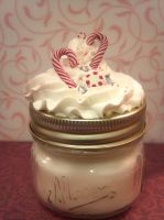 Peppermint Scented Candle by ninja2of8