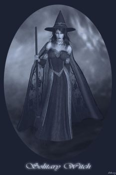 Solitary Witch by solitaryart