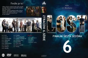 LOST DVD cover by Tomasx4